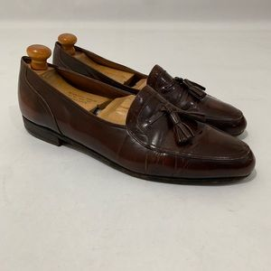 Bally Tassel Loafers Brown Size 11
